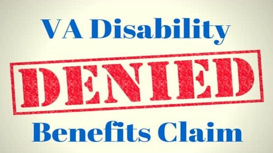 VA Denied Claim 001